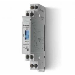 Przekaźnik modułowy/serwisowy auto-załącz–wyłącz 1P 10A 24V AC/DC, obudowa modułowa (11,2 mm), 19.21.0.024.0000