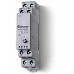 Przekaźnik serwisowy Auto/Off/Manualny, 1 zestyk przełączny (1P 5A) 1 zestyk zwrotny, 24V AC/DC, 19.41.0.024.0000