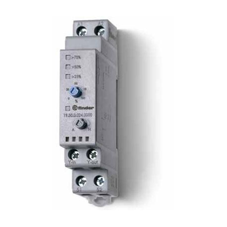 Przekaźnik serwisowy Auto/Manualny/(0...10V), obudowa modułowa (1S 17,5 mm)
