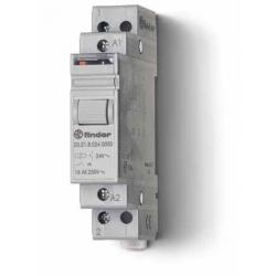 Przekaźnik impulsowy 1Z 16A 12V AC, styk AgSnO2