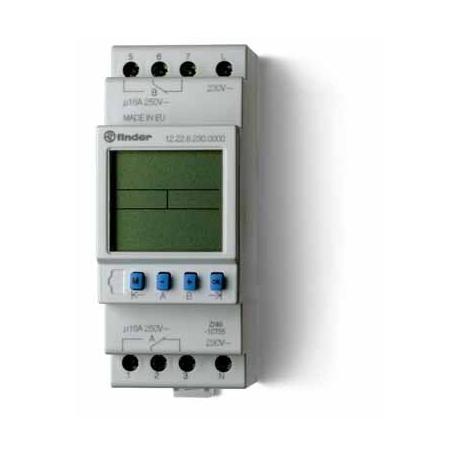 Programator tygodniowy elektroniczny 2P 16A 24V AC/DC