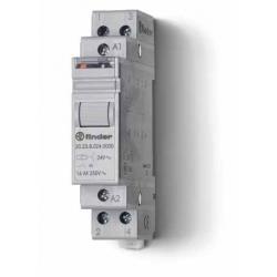 Przekaźnik impulsowy 1Z+1R 16A 12V AC, styk AgSnO2, 20.23.8.012.4000