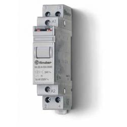 Przekaźnik impulsowy 2Z 16A 24V AC, styk AgSnO2, 20.24.8.024.4000