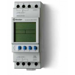 Programator tygodniowy elektroniczny 2P 16A 230V AC, 12.22.8.230.0000