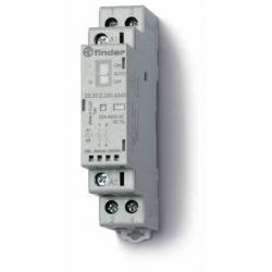 Stycznik modułowy  2 zwierne, funkcja Auto-On-Off, wskaźnik zadziałaniua + LED, 17,5mm