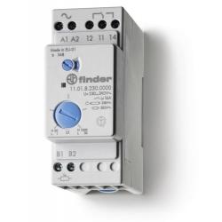 Wyłącznik zmierzchowy, 1 zestyk przełączny (1P 16A), 230V AC, obudowa modułowa (2S 35 mm), 11.01.8.230.0000