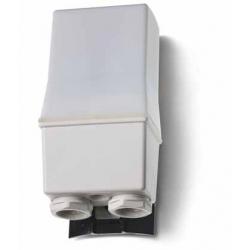 Wyłącznik zmierzchowy, 2 zestyki zwierne (2Z 16A),230V AC,  podwójne rozłączanie,10-25 lx, IP 54