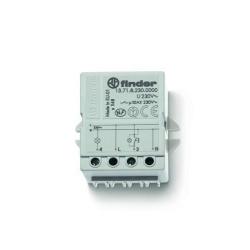 Elektroniczny przekaźnik impulsowy, 1 zestyk zwierny (1Z 10A), do montażu w puszkę instalacyjną lub na panelu (50x49,5x22 mm)