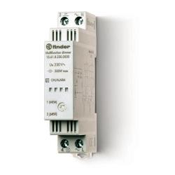 Elektroniczny przekaźnik impulsowy ze ściemniaczem, 500W 60Hz, obudowa instalacyjna (1S 17,5 mm)