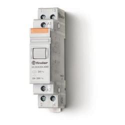 Przekaźnik modułowy mocy 1Z+1R 20A 230V AC, styk AgSnO2