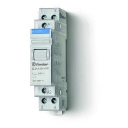 Przekaźnik modułowy mocy 2R 20A 12V AC, styk AgSnO2, 22.24.8.012.4000
