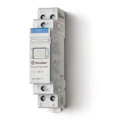 Przekaźnik modułowy mocy 2R 20A 24V AC, styk AgSnO2, 22.24.8.024.4000