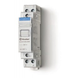 Przekaźnik modułowy mocy 2R 20A 230V AC, styk AgSnO2