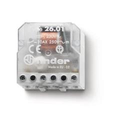 """Przekaźnik impulsowy """"krokowy"""" 1Z 10A 250V, cewka xxx* VAC, montaż w puszkach instalacyjnych lub obudowach"""