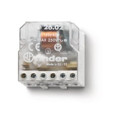 Przekaźnik impulsowy 2Z 10A 24V AC, 26.02.8.024.0000