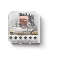 Przekaźnik impulsowy 1Z+1R 10A 230V AC, 26.03.8.230.0000
