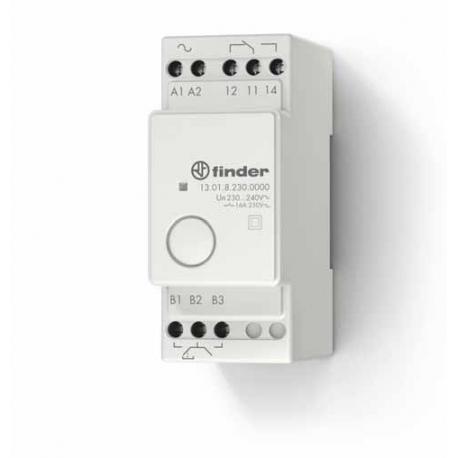 Elektroniczny przekaźnik impulsowy/monostabilny, 1 zestyk przełączny (1P 16A), obudowa modułowa (2S 35 mm), 750-2000W w zależnoś