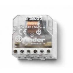 Przekaźnik impulsowy 2Z 10A 12V AC, 26.04.8.012.0000