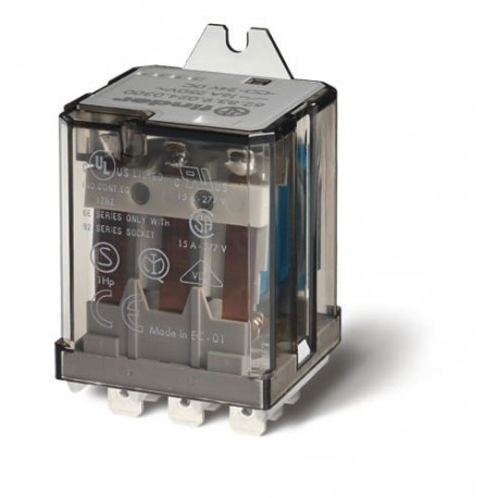 Przekaźnik 3Z 16A 24V DC, na panel, Faston 250