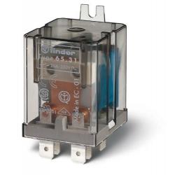 Przekaźnik przemysłowy wyprowadzenia typu FASTON 250, 1Z 30A ....*V (AC lub DC), styki AgCdO (standard), stopień szczelności RTI