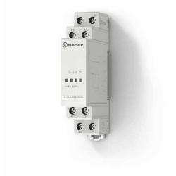 Elektroniczny przekaźnik przywołanie-reset, 1 zestyk przełączny i 1 zwierny (1P +1Z 8A), obudowa modułowa (1S 17,5 mm), 250-800W