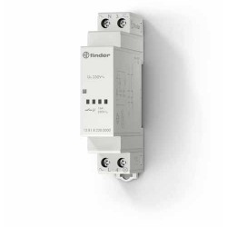 Elektroniczny przekaźnik impulsowy, 1 zestyk zwierny (1Z 16A), obudowa instalacyjna (1S 17,5mm), 350-100W, 13.81.8.230.0000