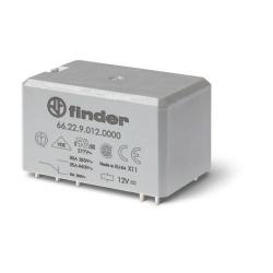 Przekaźnik 2P 30/10A 230V AC, do druku, 66.22.8.230.0000