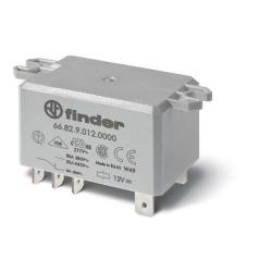 Przekaźnik 2P 30A 12V DC, na panel, Faston 250, 66.82.9.012.0000