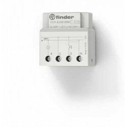 Elektroniczny przekaźnik impulsowy/czasowy, 1 zestyk zwierny (1Z 10A), do montażu w puszkę instalacyjną, 13.91.8.230.0000