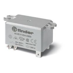 Przekaźnik 2Z 30A 24V DC, na panel, Faston 250, 66.82.9.024.0300