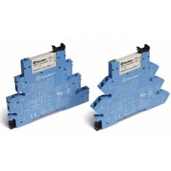 Przekaźnikowy moduł sprzęgający 1P 6A 230-240V AC/DC, 38.61.0.240.0060