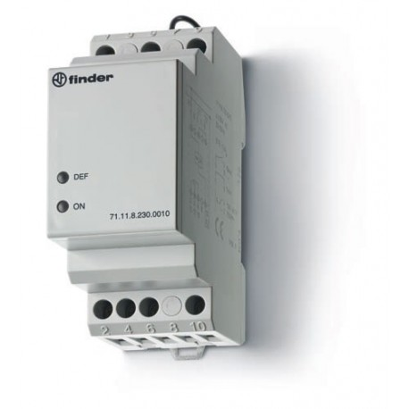 Przekaźnik 1P 10A 230V AC, nadzór napięcia 1-faz (0,75...1,2 Un)