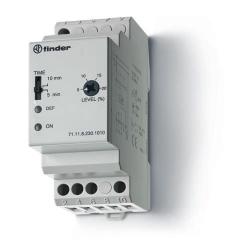 Przekaźnik 1P 10A 230V AC, nadzór napięcia 1-faz (5...20% Un)