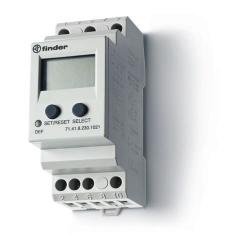 Przekaźnik 1P 10A 230V AC, uniwersalny nadzór napięcia, programowalny
