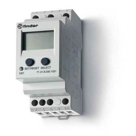 Przekaźnik 1P 10A 230V AC, uniwersalny nadzór prądu, programowalny