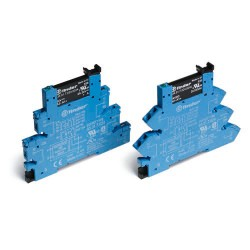 Przekaźnikowy moduł sprzęgający 1Z 1,5...48V DC/0,1A, ster. 230-240V AC, 38.81.3.240.7048