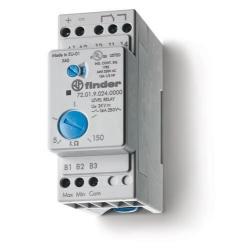Przekaźnik kontroli poziomu cieczy (przewodzących) funkcja opróżniania (ES, EL) i napełnienia (FS, FL) zbiornika, nastawy czułoś
