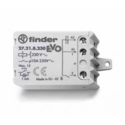 """Przekaźnik impulsowy """"krokowy"""" 1Z 10A 250V, cewka 230 VAC, montaż w puszkach instalacyjnych lub obudowach, 27.21.8.230.0000"""
