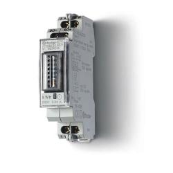 Licznik energii elektromechaniczny1 faz. 5/32A – 230VAC, wyjście impulsowe SO (5...30VDC), szerokość 17,5mm, montaż na szynie DI