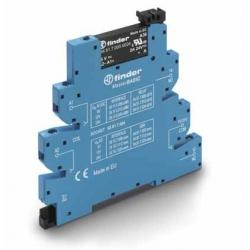 Przekaźnikowy moduł sprzęgający 6,2mm MasterBASIC, SSR wyj. 2A / 24VDC  zasil. 12VDC ,  zaciski śrubowe, 39.10.7.012.9024