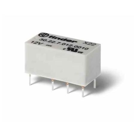 Przekaźnik 2P 2A 6V DC, wykonanie szczelne RTIII