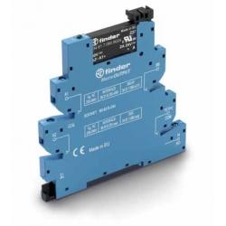 Przekaźnikowy moduł sprzęgający 6,2mm MasterOUTPUT, SSR wyj. 2A / 24VDC  zasil.24VDC ,  zaciski śrubowe, 39.20.7.024.9024