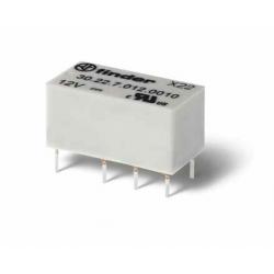 Przekaźnik 2P 2A 12V DC, wykonanie szczelne RTIII, 30.22.7.012.0010