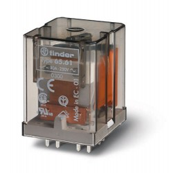 Przekaźnik 1Z 30A 230V AC, do druku, 65.61.8.230.0300