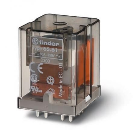 Przekaźnik 1Z 30A 230V AC, do druku