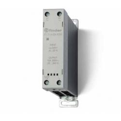 Stycznik SSR z radiatorem na szynę DIN 15A, załączanie w zerze, sterowanie 230 V AC