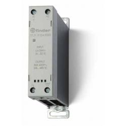 Stycznik SSR z radiatorem na szynę DIN 30A, załączanie w zerze, sterowanie 230V AC