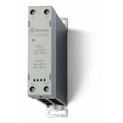 Stycznik SSR z radiatorem na szynę DIN 30A, załączanie natychmiastowe, sterowanie 24V DC