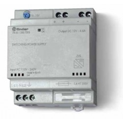 Zasilacz impulsowy, obudowa modułowa(4 moduły)50W/24VDC, 110...240VAC, 78.50.1.230.1230