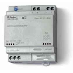 Zasilacz impulsowy, obudowa modułowa(4 moduły)60W/24VDC, 110...240VAC